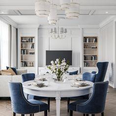 BALCON Home Room Design, Dining Room Design, Home Interior Design, House Design, Living Room Decor Cozy, New Living Room, Modern Classic Interior, Interior Room Decoration, Classic Living Room