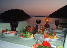 Fenerci Restaurant-Gümüşlük-Turkey... Turkey Holidays, Table Settings, Table Decorations, Sunset, Google Search, City, Table Top Decorations, Place Settings, Sunsets