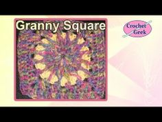 Crochet Granny Circle to Square 3 ~ free pattern
