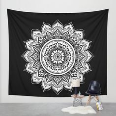 black white mandala,mandalas,mandala,mandala wall tapestry,mandala wall tapestries,mandala design,black,white,mandala wall art,mandala wall by haroulitasDesign on Etsy https://www.etsy.com/listing/245447891/black-white