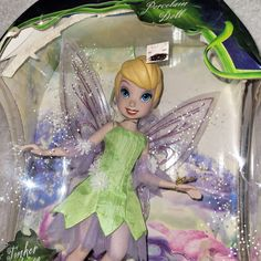 Check out what I'm selling on Mercari! Disney fairy Tinker Bell porcelain doll College Must Haves, Green Companies, Porcelain Doll, Tinker Bell, Disney Toys, Squirrel, Blessed, Fairy, Thankful