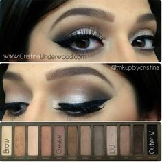 Naked 2 Urban Decay for brown eyes