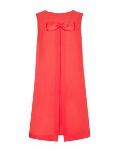 Bow detail dress - Dark Orange | Dresses | Ted Baker