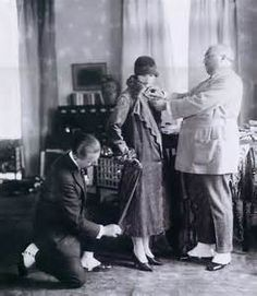 Paul Poiret e Denise Boulet.