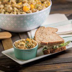 Trio Tortellini Salad via Farm Flavor