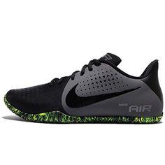 50639239967a NIKE Men s Air Behold Low Basketball Shoe Black Dark Grey Volt Size 8.5 M US