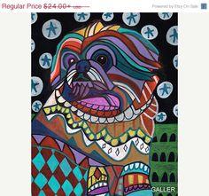 #Pekingese #Art #dog  #etsy #Trending @gallerart