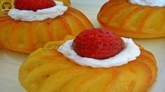 Portakallı Savarin Savarin, Candy Cookies, Recipe Mix, Turkish Recipes, Soup And Salad, Sorbet, Watermelon, Deserts, Good Food