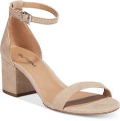 08406463f8cb Call It Spring Stangarone Block-Heel Sandals - Tan Beige 6M
