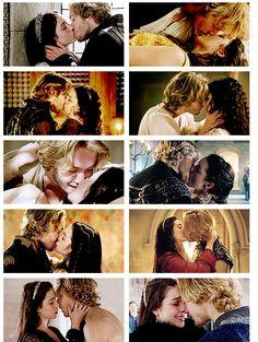 Frary kisses.