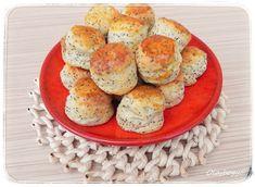 OlajBogyó Minion, Muffin, Eggs, Cookies, Breakfast, Recipes, Poppy, Food, Drinks