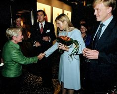 Meeting King Willem Alexander and his wife Queen Maxíma, Netherlands
