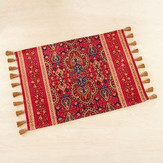 indian style placemats