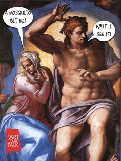 Michelangelo, The Last Judgment, 1537-1541. Sistine Chapel, Vatican City.