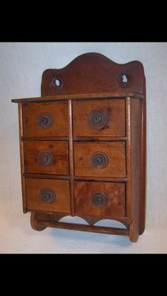 Spice Cabinets, Wall Boxes, Wood Storage, Vintage Wood, Storage Solutions,  Primitives, Flower Arrangements, Shed Storage Solutions