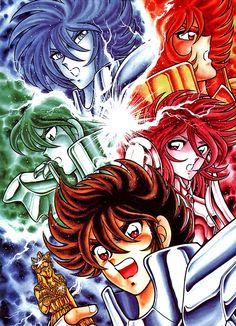Hoje Saint Seiya Omega completa 3 anosA estréia da série no japão foi em 1 de abril de 2012 e terminou com 97 episódios, em 30 de março de 2014 .