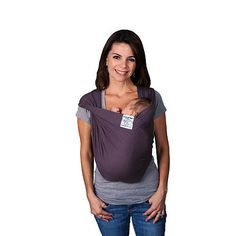 """Baby K'tan Baby Carrier - Eggplant (Small) - Baby K'tan - Babies """"R"""" Us"""