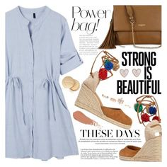 """""""It's a Shirt! It's a Dress! It's a Shirtdress!"""" by martinabb ❤ liked on Polyvore featuring Castañer, Lanvin, New Look, Jane Iredale, shirtdress, summerstyle and summerdress"""