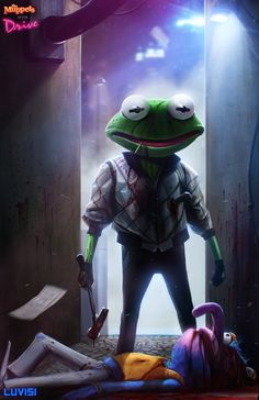 Kermit the Frog as The Driver – Muppets x Drive Mashup by Dan LuVisi