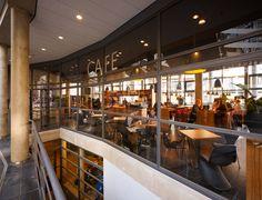 Interieur, Espressobar, inrichting, Espresso, restaurant, warm, horeca, modern.