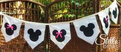 Mickey/Minnie Mouse Bunting