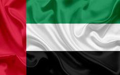 Lataa kuva Lipun Yhdistyneet Arabiemiirikunnat, ARABIEMIIRIKUNTIEN Lippu, Itä, Aasiassa, Yhdistyneet Arabiemiirikunnat, UAE