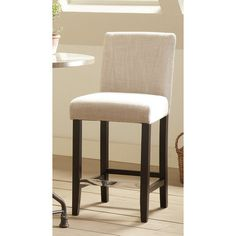 "Found it at Wayfair - 24.5"" Bar Stool with Cushion"