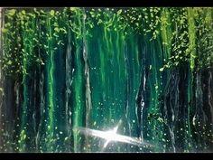 "TUTORIAL ACRILICOS FLUIDOS (Acrylic Pouring) en Español - ""Magenta"" -(Flip Cup) - YouTube"