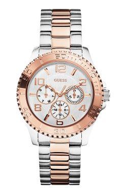 Jaaaaa! 2x Guess horloge t.w.v. €219