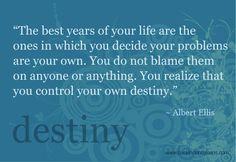 You create your own destiny...  #industryrockstar #ecppublishing