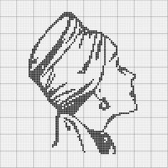 A Fine Hat Cross Stitch_1 by jacqueline | weelittlestitches, via Flickr