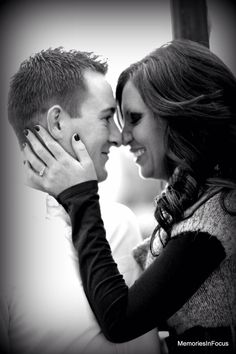 The ring engagement photo