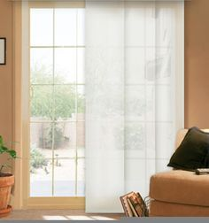 Comfortex® Envision® Panel Track Blinds: Solar Shade