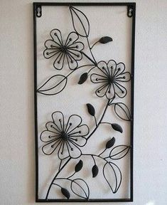 Looking at our website is time well spent. Discover more about metallic wall paint. Click the link for more information. Wrought Iron Decor, Wrought Iron Gates, Metal Wall Decor, Metal Wall Art, Art Fer, Primitive Candles, Window Grill Design, Metal Plant Stand, Steel Art