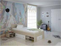 Μονό κρεβάτι Nomad Kids Room, Toddler Bed, Bench, Storage, Furniture, Home Decor, Girls, Child Bed, Purse Storage