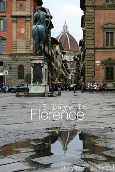 3 Days In Florence Italy  #travel  ✈✈✈ Don't miss your chance to win a Free Roundtrip Ticket to Florence, Italy from anywhere in the world **GIVEAWAY** ✈✈✈ https://thedecisionmoment.com/free-roundtrip-tickets-to-europe-italy-florence/