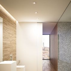 ASTOR SQ   rendl light studio   Recessed light with a brushed aluminum frame. The glass cover is semi-satinated. Suitable for wet environments. #light #recessed #bathroom