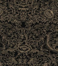 Buttercream™ Audrey Collection Cotton Fabric-Gothic Outline