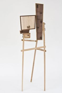 Unorganized Cabinet by Colin Tury -- I love things that keep other things.