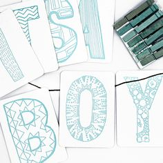 Boy Letterpress DIY