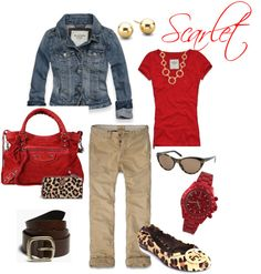 """""""scarlet"""" by bored71 ❤ liked on Polyvore"""
