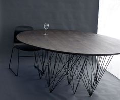 Jonas Rylander's #Spider60 Wire Tables Sit on 60 Legs #furniture trendhunter.com