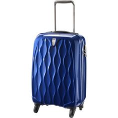 ANTLER LIQUIS 56CM CABIN ROLLER CASE BLUE  Inspired by the elegance of nature's waterfall.  #bags #luggage #travel #travelluggage #travelsuitcases