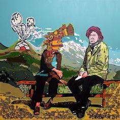 """""""Andes"""" de Andrea Valencia @ VirtualGallery.com"""
