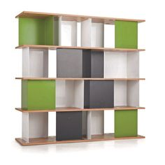 La bibliothèque design se met au vert ! Ikea Ps 2014, Wall Shelving Units, Display Shelves, Wall Units, Bookshelves, Bookcase, Bibliotheque Design, Decoration, Home Office