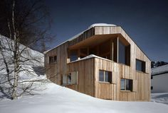 6 Slick Takes on the Swiss Chalet - Architizer