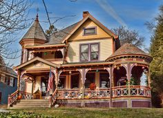 Gorgeous, painted lady Victorian in Katonah, NY. 100s of Different Victorian Homes http://www.pinterest.com/njestates1/victorian-homes/ Thanks To http://www.njestates.net/real-estate/nj/listings