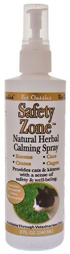 Vet Classics Safety Zone Natural Herbal Calming Cat Spray 8 oz ** Continue to the product at the image link.(This is an Amazon affiliate link)