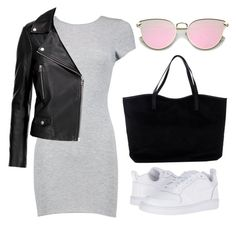 """""""76"""" by ddaisiee on Polyvore featuring Boohoo, MuuBaa, NIKE and ONLY"""
