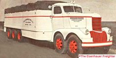 The Eisenhauer Freighter – A Unique Twin Engine Truck